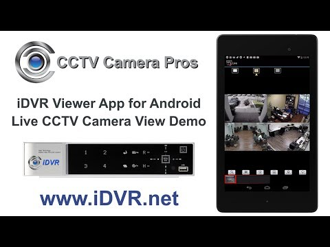 Android CCTV Camera App Live Video View