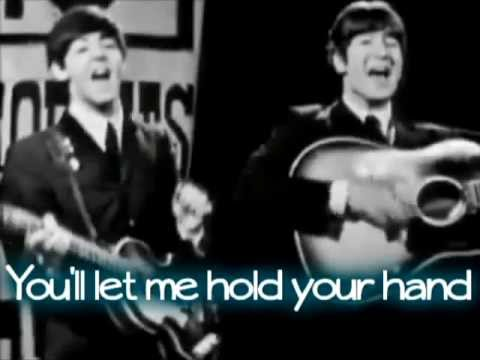 The Beatles - I want to hold your hand - Live Lyrics *dedicated...