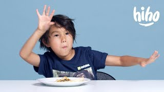 American Kids Try Turkish Food | Kids Try | HiHo Kids