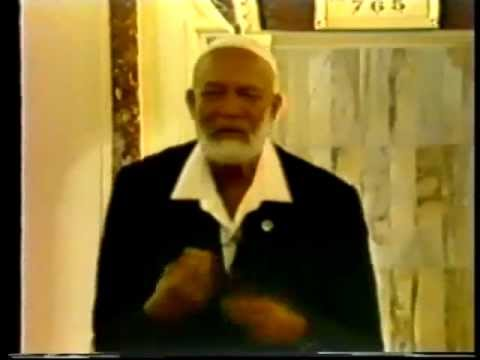 Christian Guests In Your Mosque - Sheikh Ahmed Deedat video