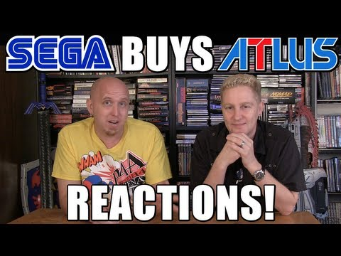 SEGA BUYS ATLUS! Our Reaction!