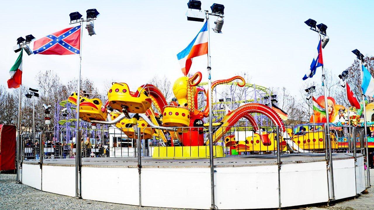 Luna park giostre alla pellerina a torino net youtube for Puerta 7 luna park