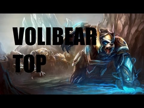 League of Legends - Volibear Top - Full Game Commentary