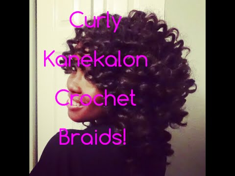 Crochet Hair Youtube : Super Sexy Kanekalon Crochet Braids! - YouTube