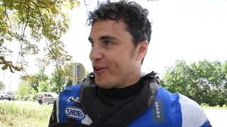 Hungarian Baja 2016 - interviste a fine gara, Alex Zanotti