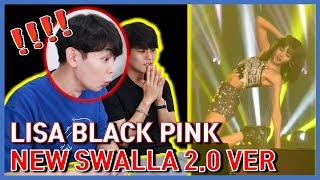[Korean Reaction] NEW! LISA SWALLA 2.0 DANCE IN BANGKOK ENCORE / LISA Blackpink Solo Stage