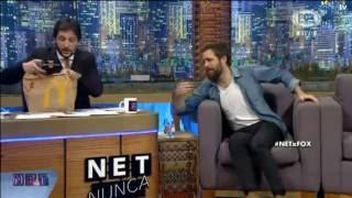 Peter Lanzani en NET (Nunca Es Tarde)   Fox Sports   8/09/2016