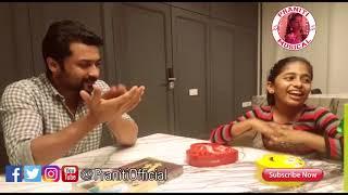 Praniti meets Actor Suriya   Singing Munbe Vaa   Wonderful Moments