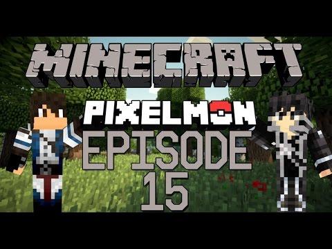 Pixelmon FR - Episode 15 - Sixième badge - Série multi avec Isra | MOD Pokemon Minecraft Français thumbnail