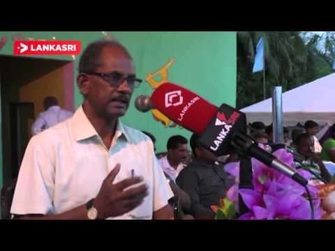 EP Agriculture  Minister K.Thurairajasingam Speech at Kiran Sports Event