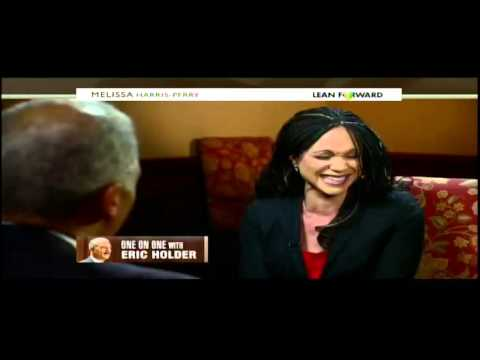 Melissa Harris-Perry asks Eric Holder to quack like a duck