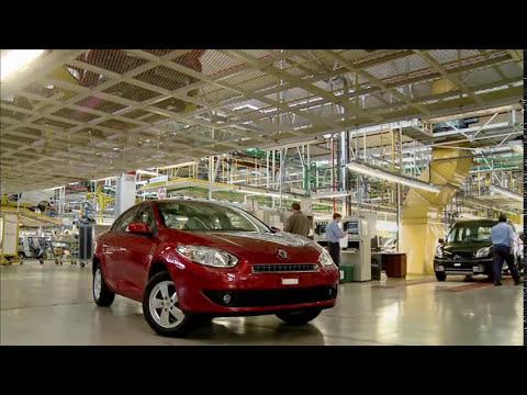 Fabricación del Renault Fluence en la fábrica Santa Isabel, Córdoba