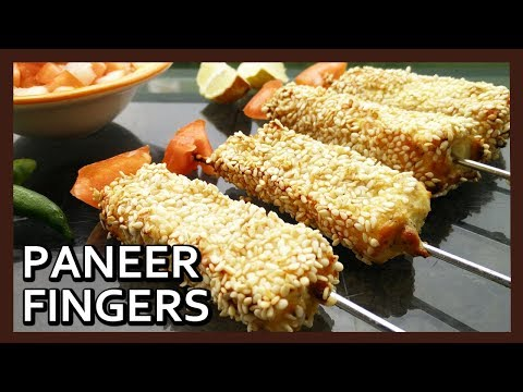 Paneer Til Tinka Recipe (Cheese Cutlets) with Philips Airfryer by Healthy Kadai