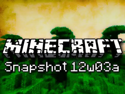 Minecraft: Jungles, Smarter Zombies, and Happy Ladders (Intro to Snapshot 12w03a) Music Videos