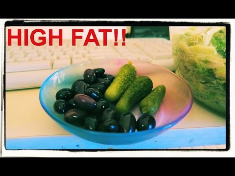 What I ate today. High fat vegan diet! Low carb vegan vs paleo.