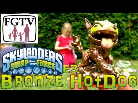 E3 2013 Bronze Hot Dog Skylander. Limited Edition Unboxing Competition