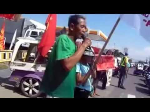 """""""No to anti-people, anti-poor economic cooperation!"""" --BAYAN"""