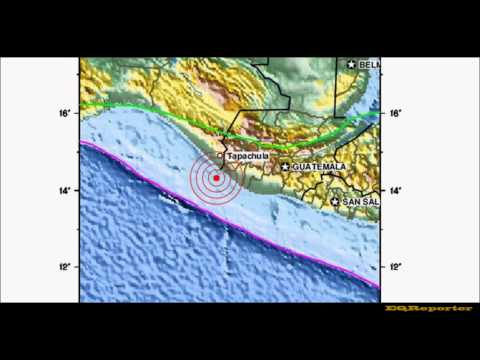 M 6.0 EARTHQUAKE - OFFSHORE GUATEMALA 07/29/12