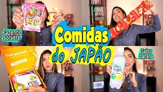 PROVANDO GULOSEIMAS do JAPÃO | KIT KAT EXCLUSIVO, FANTA DE BANANA...