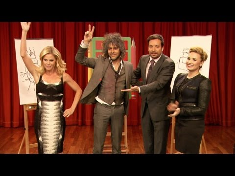 Pictionary with Demi Lovato, Julie Bowen, Wayne Coyne & Jimmy Fallon, Part 2