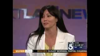 Shannen Doherty - KTLA (May 11th 2012)