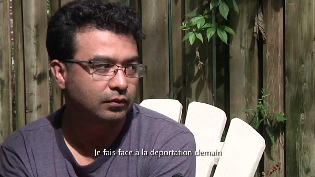 La communaut mexicaine  Montral lutte contre la dportation d'un rfugi