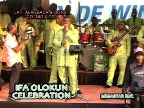 King Wasiu Ayinde Performs ifa Olokun Celebration Part 1 video