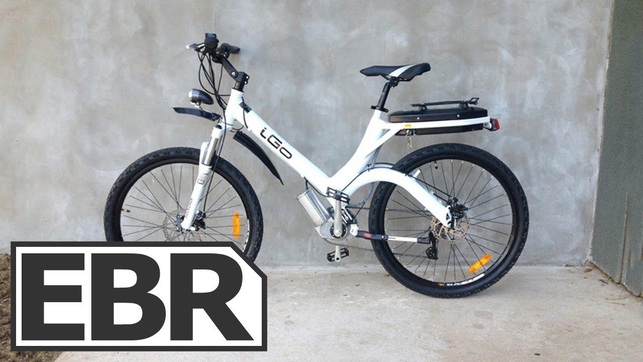 Igo Urban Electric Bike Review Youtube