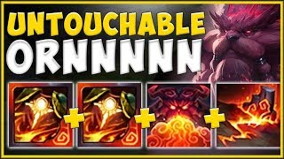 WTF! NEW SUNFIRE ITEM BUFFS GIVE ORNN 400 ARMOR IN 15 MINS?? ORNN TOP GAMEPLAY! - League of Legends