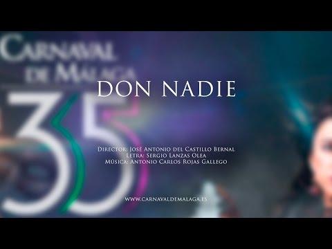 """Carnaval de Málaga 2015 - Comparsa """"Don Nadie"""" Preliminares"""