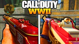 7 BEST HIDDEN WEAPONS IN CALL OF DUTY WW2! NEW DLC WEAPON VARIANTS COD WW2 NEW HEROIC GUNS!