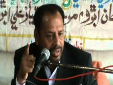 Shahdat Bibi Zehra (s.a) 1 Part Majlis By Manzoor Solangi video