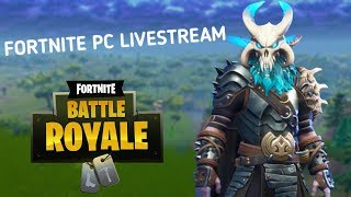 COME AND PLAY WITH ME l FORTNITE PC LIVESTREAM