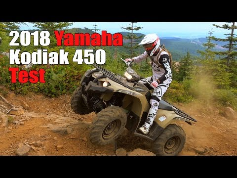 2018 Yamaha Kodiak 450 Test Review