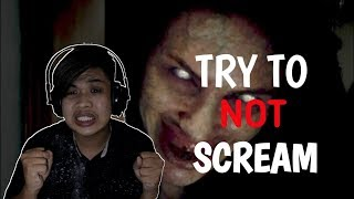 TRY NOT TO GET SCARED CHALLENGE INDONESIA !!!