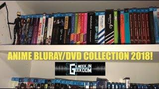 Anime Bluray/DVD Collection 2018!
