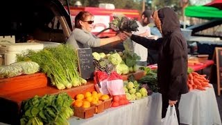 The Crescent City Farmers Market in New Orleans