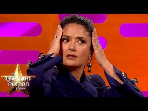 Salma Hayek Had a Mariachi Band for her 50th Birthday | The Graham Norton Show