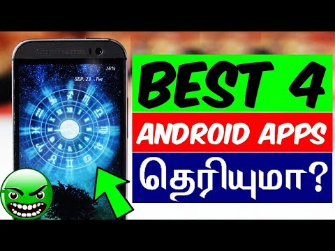 Best 4 Android Apps You Must Try! - Tech Tips Tamil