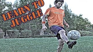 Juggling a Soccer Ball 6 Key Points by Online Soccer Academy