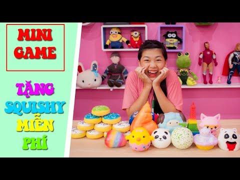 MINI GAME HOT : Tặng Squishy Miễn Phí | NYN KID