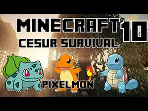 Minecraft CESUR Survival - Enes Baturay ve Yiğit - Bölüm 10 - Pixelmon