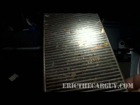 How To Change A Cabin Air Filter. 2004 Honda Civic - EricTheCarGuy