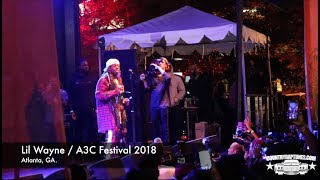 Lil Wayne Live On Stage A3C Festival 2018 - (Before The Fight Broke Out)