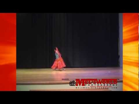 Mera Piya Ghar Aaya - Dance By Melissa Mathew - Ccd Talent Show 2011 video
