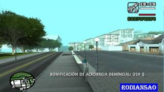 super salto en gta san andreas
