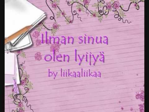 Scandinavian Music Group - Ilman Sinua Olen Lyijy