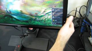 BenQ 2420T 3D Vision Lightboost 24 LED Monitor Unboxing & First Look Linus Tech Tips