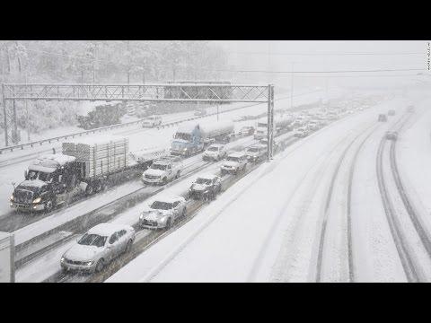 Massive Winter Storm hits East Coast , Washington DC, Virginia and New Jersey Snow Storm 2016
