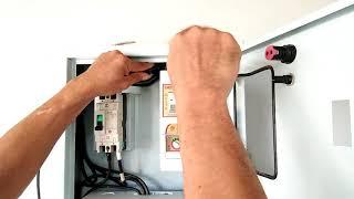 แนวทางประกอบตู้เมนไฟฟ้าบ้านใหม่ตู้คอนซูมเมอร์ 10ช่อง SAFE-T-CUT 10ช่องพร้อมอุปกรณ์อื่นๆ220VAC ชั้น2